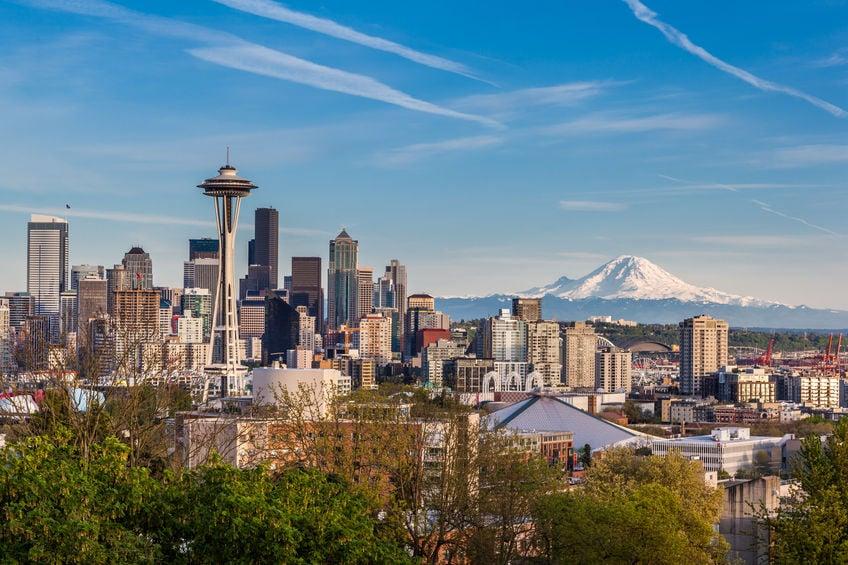 Seattle skyline - Q4Live Seattle 2021