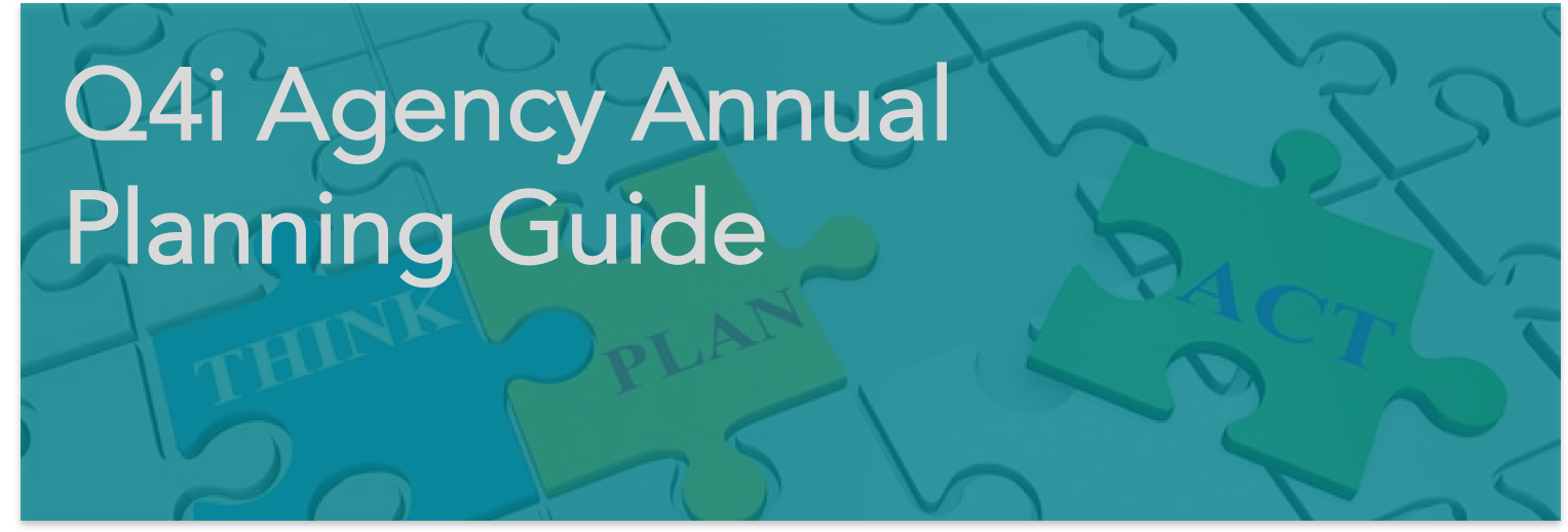 Q4i Agency Annual Planning Guide