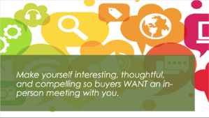 Q4i Marketing goal to make yourself interesting