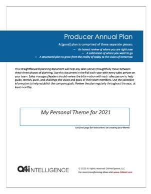 Q4i Producer Annual Plan 2021 Image