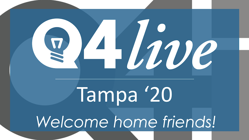Q4Live: Join Us for Networking with Other Forward-thinking Benefits Professionals